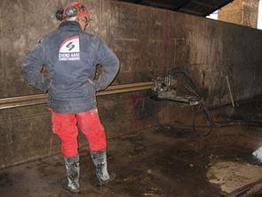 Boring og skæring i beton