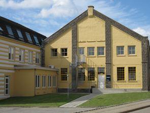 Renoveret tidligere industribygning